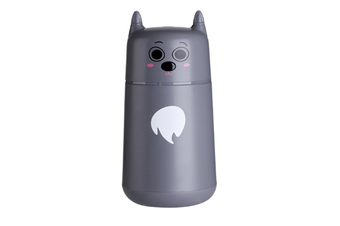JunChang 220ml Mini USB Air Humidifier Desktop Air Sprayer Suitable for Air-conditioned Room Office-Grey