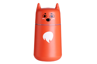 JunChang 220ml Mini USB Air Humidifier Desktop Air Sprayer Suitable for Air-conditioned Room Office-Orange