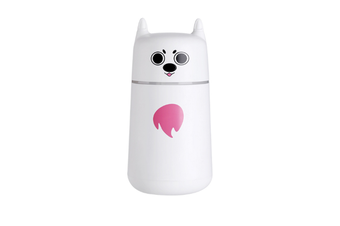 JunChang 220ml Mini USB Air Humidifier Desktop Air Sprayer Suitable for Air-conditioned Room Office-White
