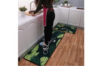 JunChang 2PCS Kitchen Carpet Floor Mat Bathroom Printing Stripe Cartoon Floor Mat Non-slip Door Mat Bath Mat-9#