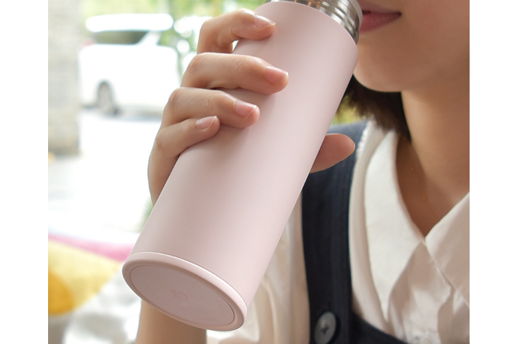 JunChang Xiaomi Mijia Mini Insulation Cup Student Portable Large Capacity Insulation Lock Cold Insulation Cup-Pink
