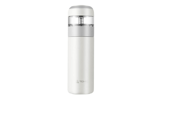 JunChang 370ml Stainless Steel Tea Separation Thermos Outdoor Travel Portable Creative Water Cup Can Be Portable