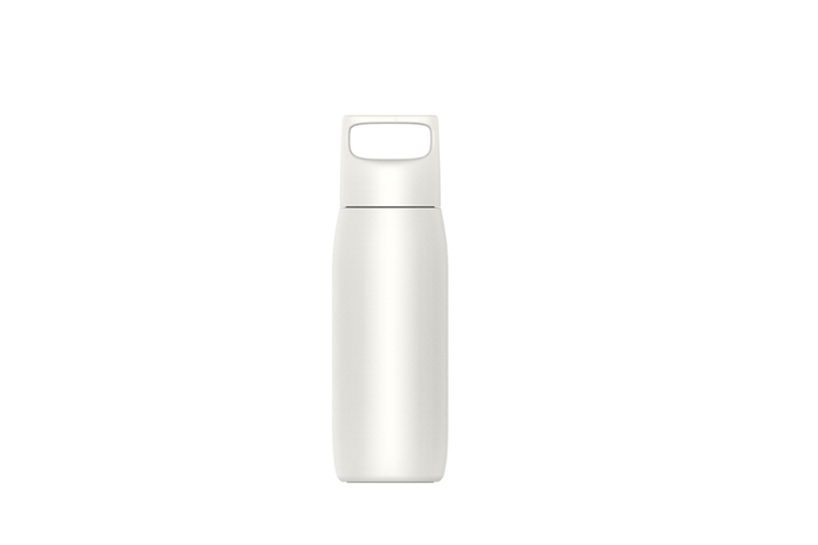 JunChang 450ml Accompanying Insulation Cup Stainless Steel Water Cup Portable Creative Portable Insulation Cup-White
