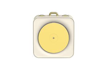 JunChang Home Bluetooth Speaker Wireless Mini Small Speaker Bluetooth Small Portable High Volume Walkman-Yellow