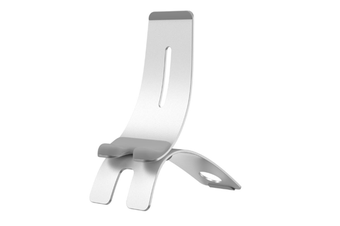 JunChang Mobile Phone Support Supports Multi-angle Adjustment Desktop Multi-function Bedside Mobile Phone Bracket-Silver