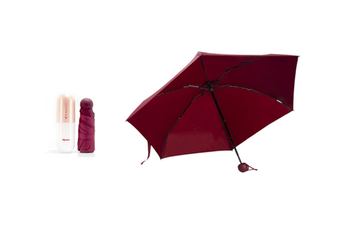 JunChang Capsule Umbrella Ultra Light Umbrella Compact Portable Umbrella Sun Umbrella Sun Protection UV Protection-Gold