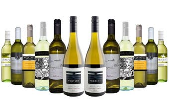 Classic Aussie White Mixed - 12 Bottles