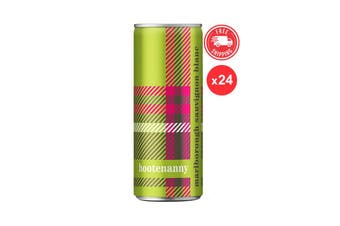 Hootenanny Sauvignon Blanc 2017 Marlborough 250 ML - 24Cans