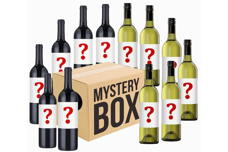 Mystery Red & White Wines Mixed - 12 Bottles