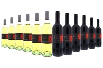 Heart to Heart Red & White Wines Mixed - 12 Pack