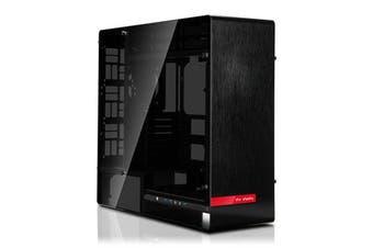 InWin 909 Black Aluminium Full Tower w/Tempered Glass Side Panel [909-Black]