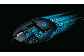 Logitech G402 Hyperion Fury FPS - Wired Gaming Mouse [910-004070]