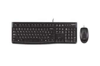 Logitech MK120 USB Desktop Keyboard and Mouse Combo