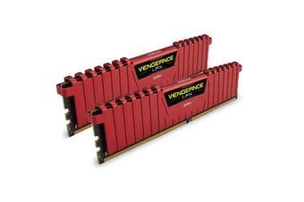Corsair Vengeance LPX 16GB (2x8GB) DDR4 Red CMK16GX4M2A2133C13R