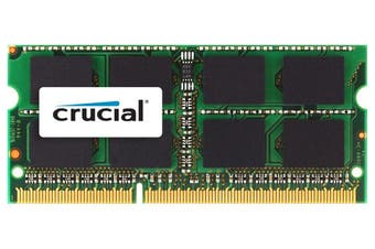 Crucial 4GB DDR3L 1600MHz SODIMM Memory for Mac [CT51264BF160BJ]