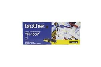 Brother TN-150 Yellow Toner Cartridge for HL-4050CDN, [TN-150Y]
