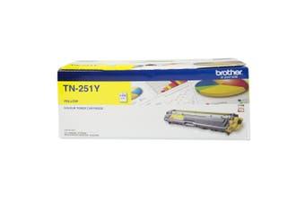 Brother TN-251Y Toner Cartridge - Yellow