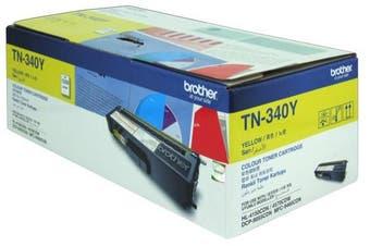 Brother TN-340Y TN340 Yellow Laser Toner