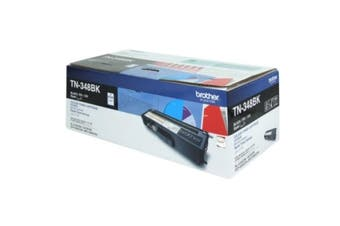Brother TN-348BK High Yield Black Toner Cartridge