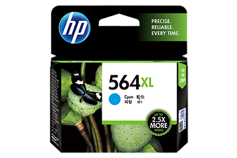 HP 564XL Cyan Ink Cartridge (CB323WA)