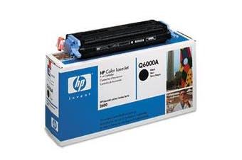 HP CLJ 2600 Series Black Print Cartridge - Q6000A