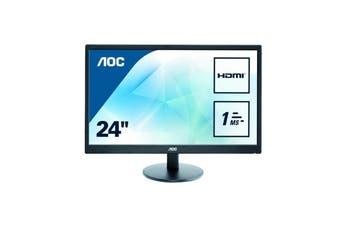 """AOC E2470SWH 23.6"""" LED Monitor [E2470SWH/75]"""