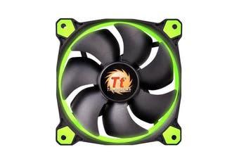 Thermaltake Riing 14 Green LED High Static Pressure Radiator Fan [CL-F039-PL14GR-A]