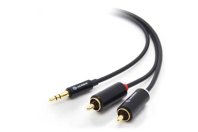 Alogic 3m Premium 3.5mm Stereo Audio to 2x RCA Stereo Cable  [AD-SPL-03]