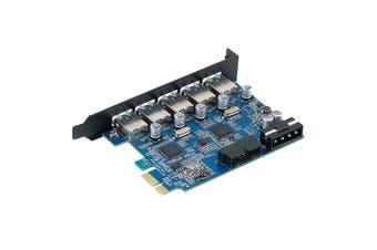 Orico Booster USB 5 Port + USB3.0 20PIN PCI-E ( PVU3-5O2I )