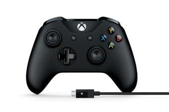 Microsoft Xbox One Controller USB/Window Black [4N6-00003]