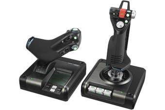 Logitech G X52 Pro H.O.T.A.S Flight Control System [945-000022]