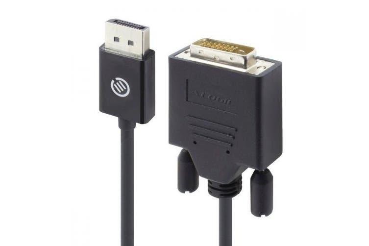 Alogic 1m Elements DisplayPort to DVI-D Cable(M/M) [ELDPDV-01]