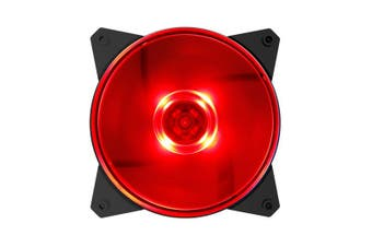 Cooler Master Masterfan MF120L Red LED Fan