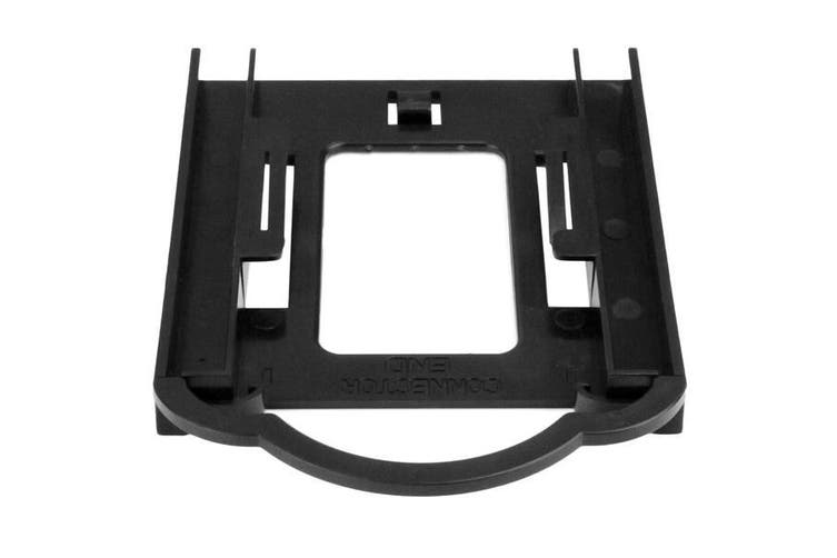 """StarTech Tool-less 2.5"""" SSD/HDD Mounting Bracket for 3.5"""" Drive Bay  [BRACKET125PT]"""