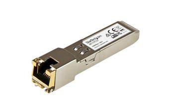 StarTech Gb RJ45 Copper SFP Transceiver - HP J8177C Compatible SFP  [J8177CST]
