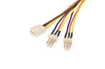 StarTech 12in TX3 Fan Power Splitter Cable  [TX3SPLIT12]