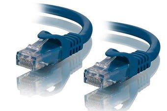 Alogic 5m Blue CAT6 network Cable (C6-05-Blue)