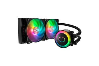 Cooler Master Masterliquid ML240R RGB AIO CPU Cooler (MLX-D24M-A20PC-R1)