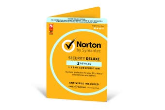 Norton Security Deluxe 1 Yrs 3 Devices [170907]
