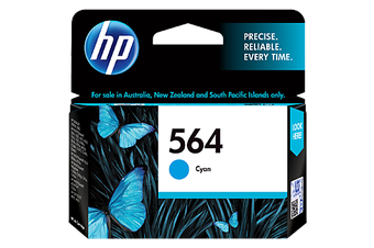 HP 564 Cyan Ink 300 Page Yield