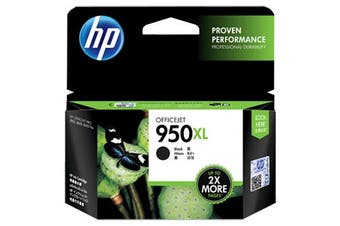 HP 950XL Black Ink 2,300 Page Yield