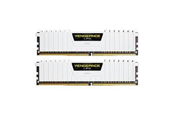 Corsair 16GB (2x8GB) DDR4-3200 Vengeanc LPX - White [CMK16GX4M2B3200C16W]