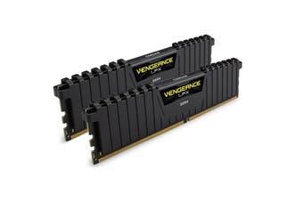 CORSAIR 16GB (2X8GB) DDR4-3000 Vengeanc LPX Memory Kit Black [CMK16GX4M2B3000C15]
