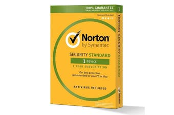 Norton Security Standard 1 Device, 1 Year [21356799]
