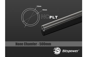 Bitspower None Chamfer PETG Link Tube OD12MM-Length 500MM