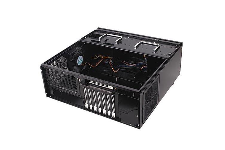 SilverStone Grandia GD07 HTPC Case Black