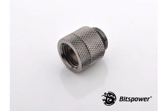 "Bitspower G1/4"" Black Sparkle Anti-Twist Adapter"
