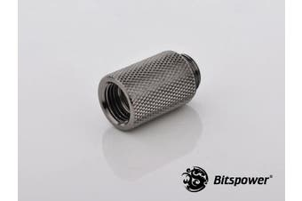 "Bitspower G1/4"" Black Sparkle IG1/4"" Extender-25MM"