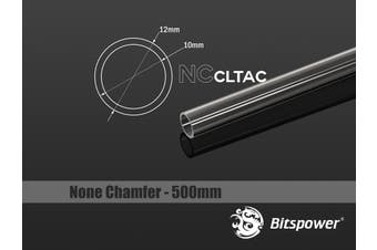 Bitspower None Chamfer Crystal Link Tube OD 12MM - Length 500MM