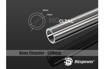 Bitspower None Chamfer Crystal Link Tube OD 16MM - Length 500MM